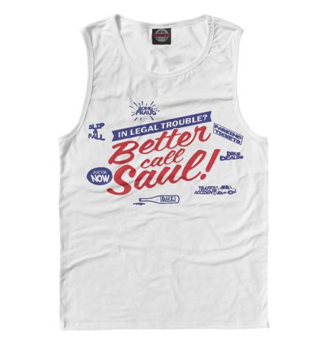 Майка Print Bar Better Call Saul футболка классическая printio better call saul