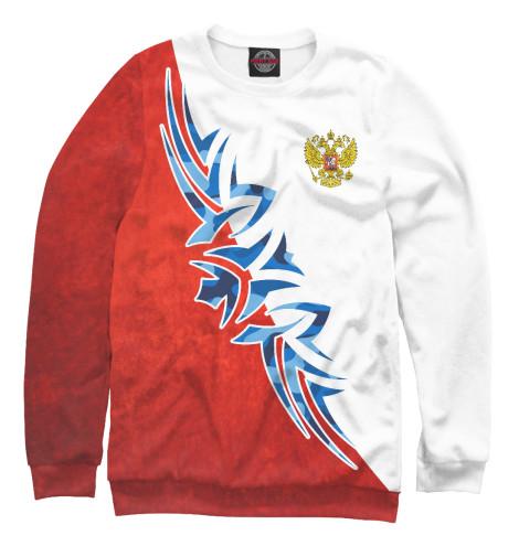 Свитшот Print Bar Символика РФ хоккейная символика амур хабаровск