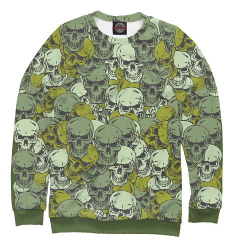 Свитшот Print Bar Skull Camou свитшот print bar hardcore punk skull
