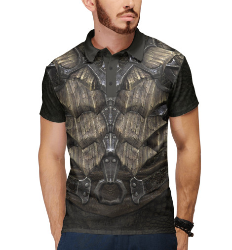 Поло Print Bar Skyrim: Dragonscale Armor купить skyrim hearthfire русская озвучка