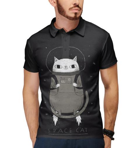 купить  Поло Print Bar Space cat  недорого