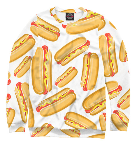 Свитшот Print Bar Hot Dog худи print bar hot dog