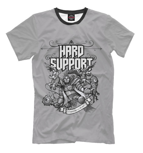 Футболка Print Bar Hard Support hard футболка hard