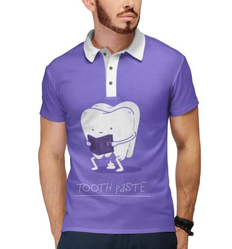 Поло Print Bar Tooth paste майка борцовка print bar tooth paste