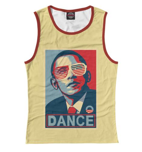 Майка Print Bar Обама dance майка print bar dance dance dance to the distortion