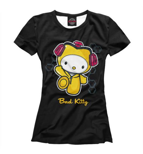 Футболка Print Bar Bad Kitty свитшот print bar bad kitty