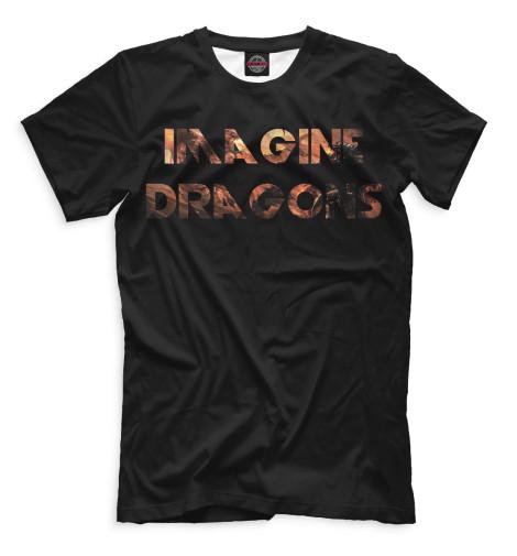 Мужская футболка Imagine Dragons