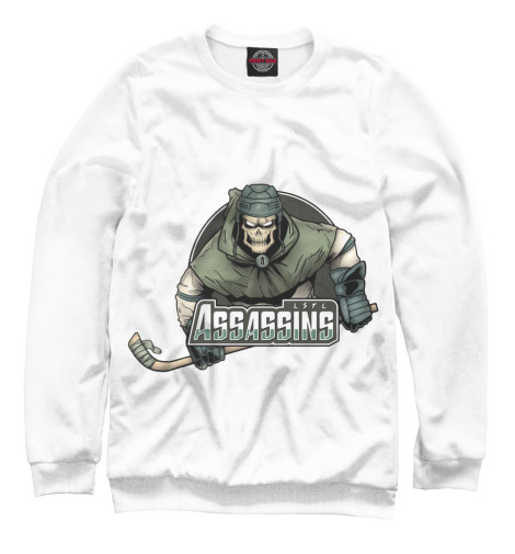 Свитшот Print Bar Assassins hockey майка борцовка print bar assassins hockey