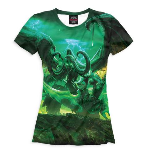 Купить Женская футболка World of Warcraft WOW-704741-fut-1