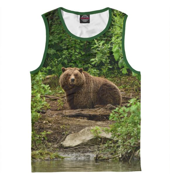 Купить Майка для мальчика Медведь MED-807652-may-2