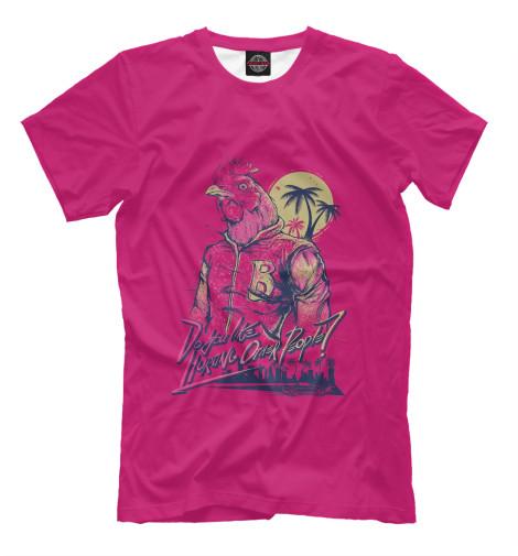 Футболка Print Bar Hotline Miami футболка print bar miami tiger
