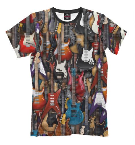 Футболка Print Bar Электро гитары