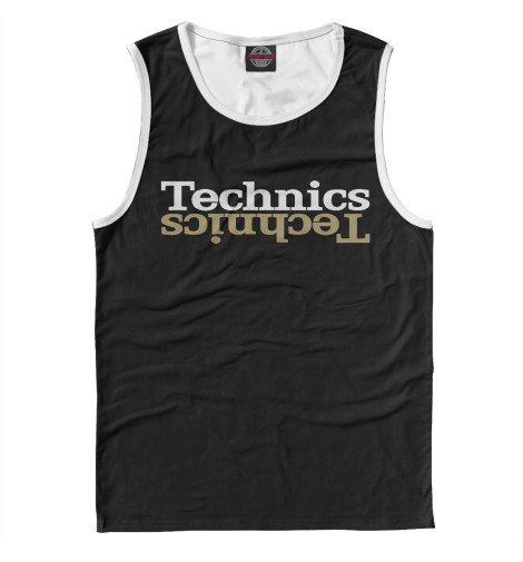 Майка Print Bar Technics technics technics rp dj1215e s