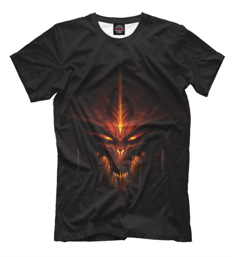 Купить Мужская футболка Diablo Latest Cb DIO-905572-fut-2