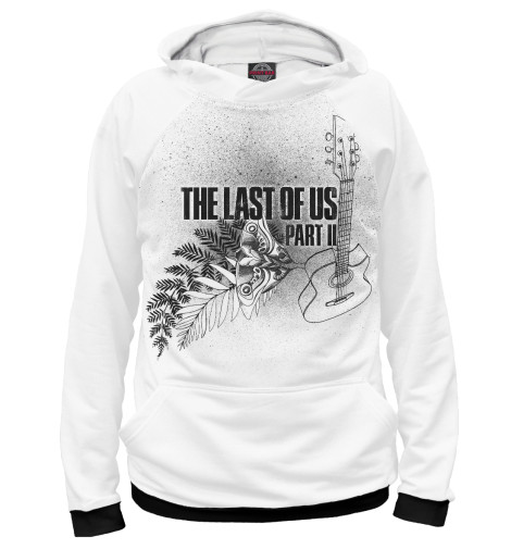 Худи Print Bar The Last of Us Part II heart goes last the