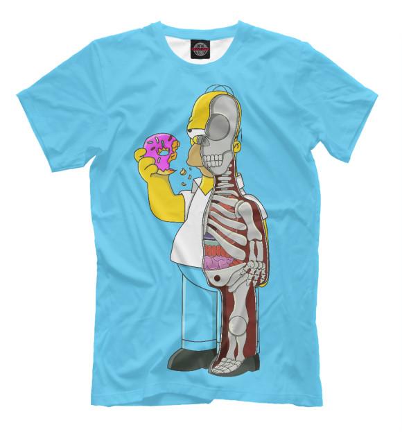 Купить Мужская футболка Гомер SIM-143148-fut-2
