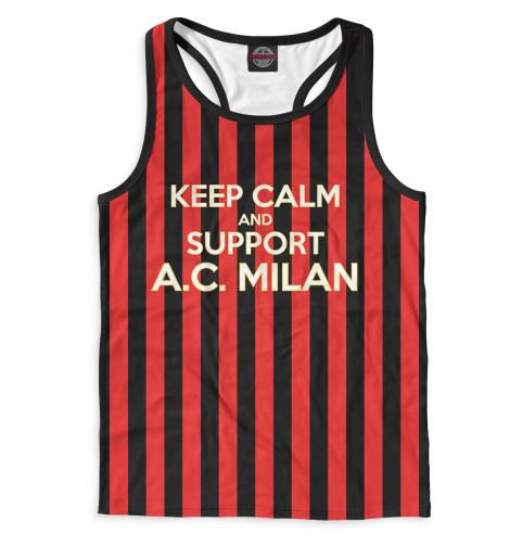 Мужская майка-борцовка AC Milan