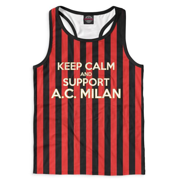 Купить Мужская майка-борцовка AC Milan ACM-467051-mayb-2