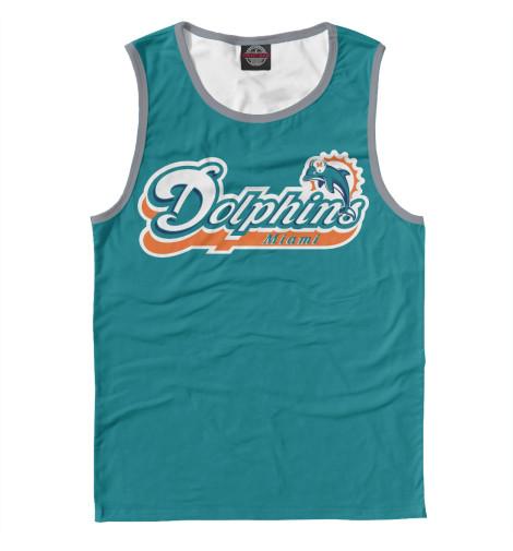 Майка Print Bar Miami Dolphins - Майами Долфинс майка print bar miami tiger