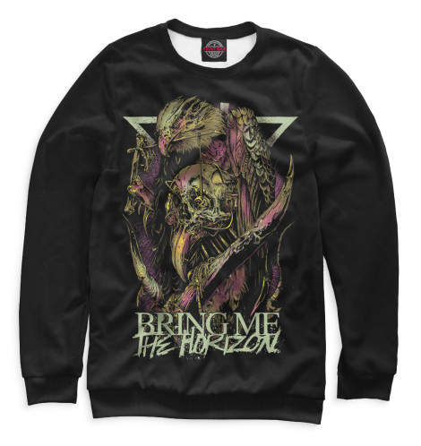 Мужской свитшот Bring Me The Horizon Print Bar BRI-268458-swi