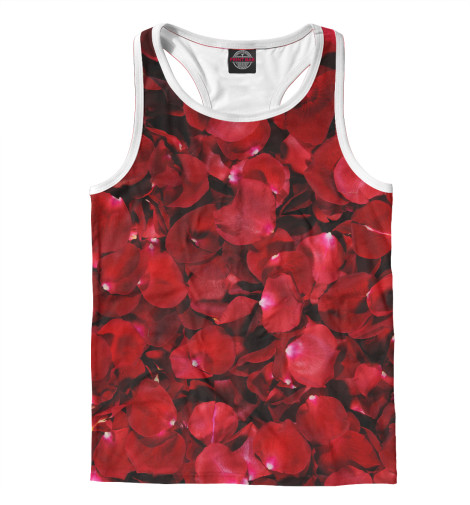 Майка борцовка Print Bar Лепестки роз
