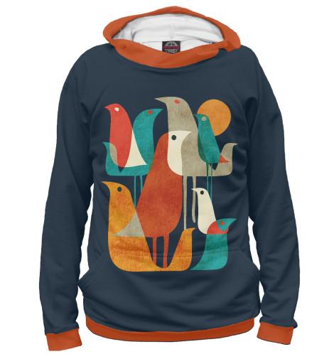 Купить Худи для девочки Осенние птицы PTI-179277-hud-1