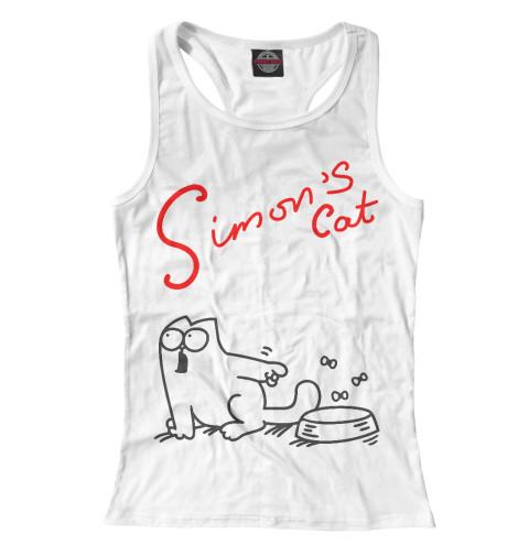 Майка борцовка Print Bar Кот Саймона хочет кушать блоккот кот саймона котики правят миром а6 128 стр