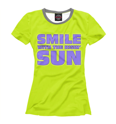 Футболка Print Bar Smile smile print nightdress