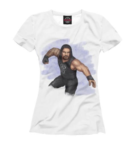 Футболка Print Bar WWE: Роман Рейнс свитшот print bar wwe сет роллинс