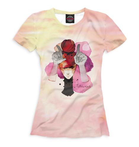 Женская футболка Телец