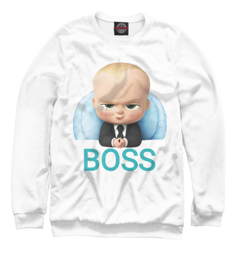 Свитшот Print Bar Босс Молокосос босс молокосос blu ray 3d