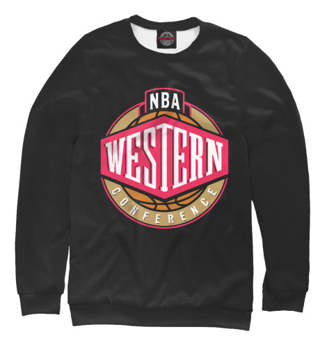Свитшот Print Bar NBA - West