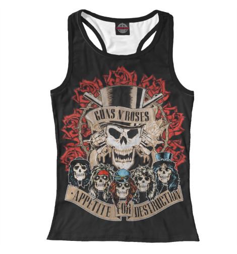 Майка борцовка Print Bar Guns N'Roses майка борцовка print bar our last night