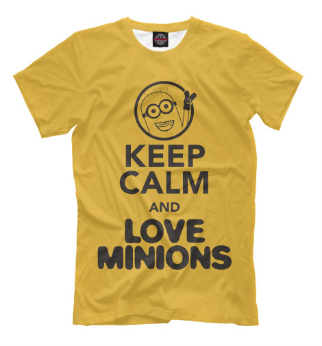 Футболка Print Bar Love Minions футболка print bar love revolution