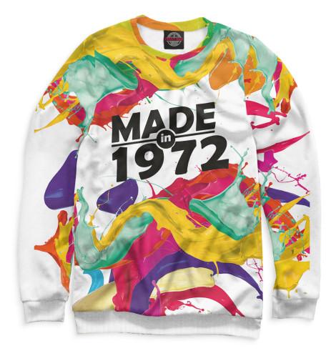 Женский свитшот Made in 1972 DSA-302189-swi-1  - купить со скидкой