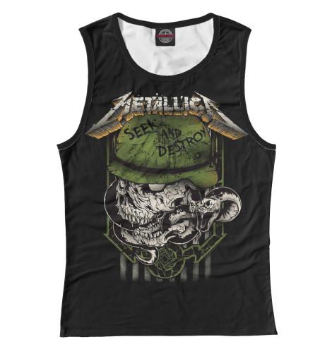 Майка Print Bar Metallica Seek and Destroy metallica metallica monsters of rock broadcast moscow russia 1991