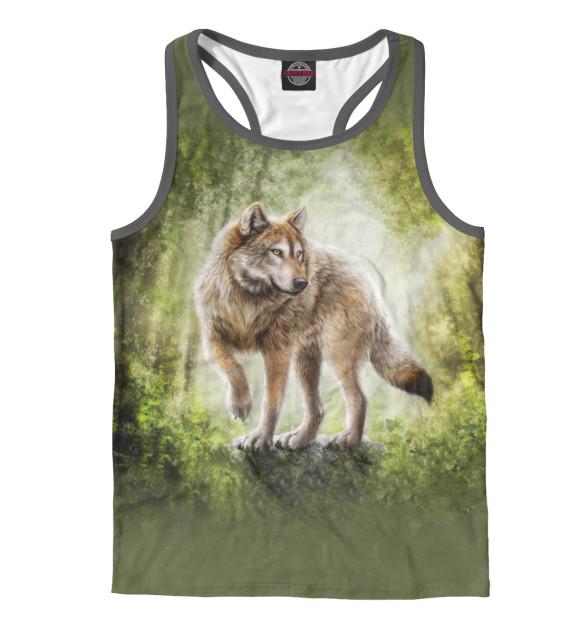 Купить Мужская майка-борцовка Волк VLF-660188-mayb-2
