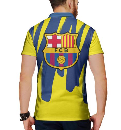 Поло Print Bar Герб FC Barcelona поло print bar barcelona