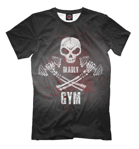 Футболка Print Bar Deadly GYM deadly deceit