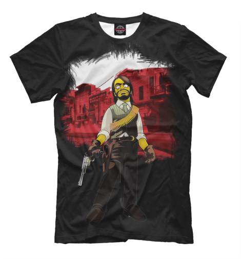 Футболка Print Bar Red Dead Redemption: Simsons Style футболка print bar dead