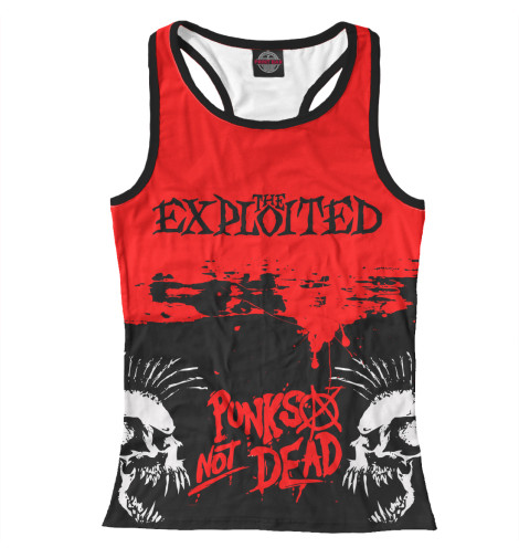 Майка борцовка Print Bar The Exploited the exploited the exploited apocalypse tour 1981 limited edition lp