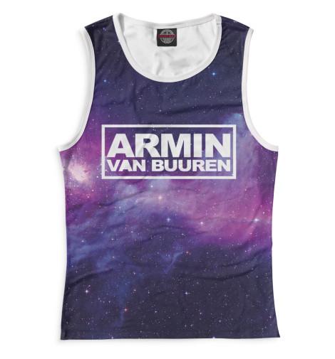 Женская майка Armin van Buuren