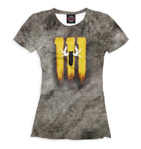 Женская футболка Убежище 111
