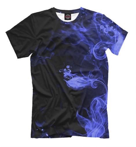 Купить Мужская футболка Дым APD-166285-fut-2