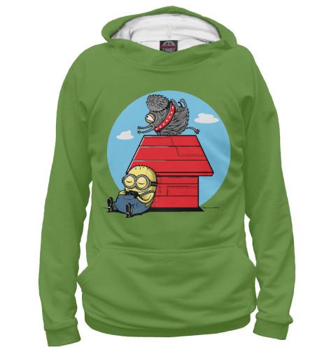 Худи Print Bar Minion Snoopy