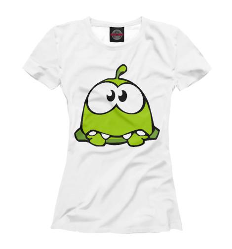 Купить Женская футболка Om nom RPG-139277-fut-1