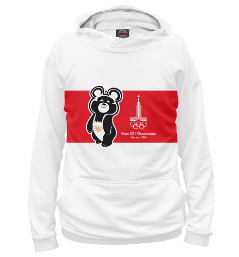 Худи Print Bar Олимпийский мишка и лого олимпиады 1980 года в Москве