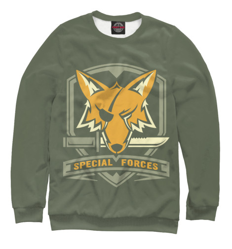 Свитшот Print Bar Special Forces Foxhound майка print bar special forces foxhound