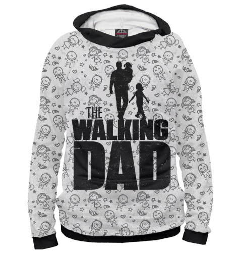 Худи Print Bar Walking Dad худи print bar the walking dead