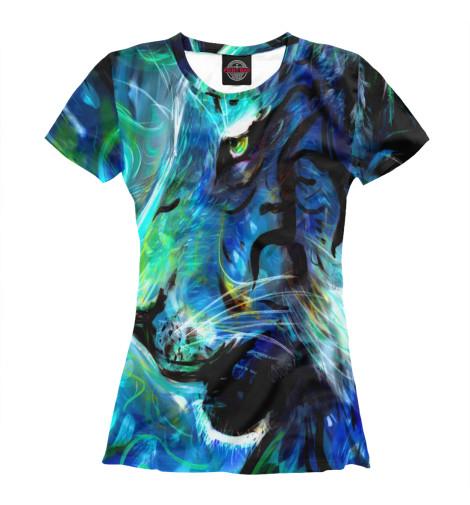 Футболка Print Bar CS GO:Blue Tiger свитшот print bar cs go blue tiger